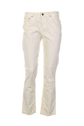 so soon pantalons femme de couleur beige