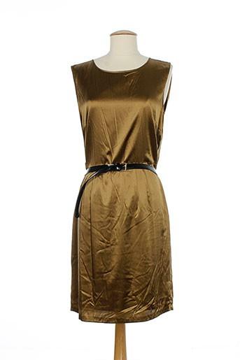 essentiel robes et mi et longues femme de couleur marron