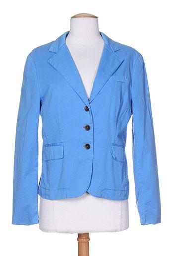 josephine et c.o vestes femme de couleur bleu