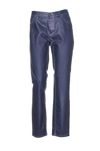 blue denim lodge pantalons femme de couleur bleu
