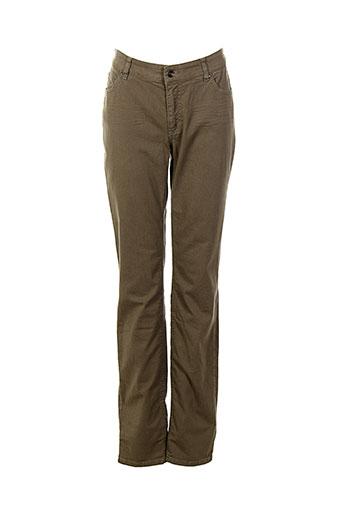 josephine et c.o pantalons femme de couleur marron