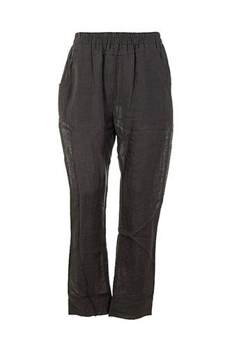 bella blue pantalons femme de couleur gris