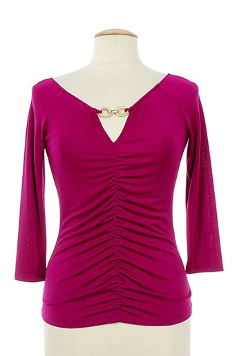 amz chemises femme de couleur violet