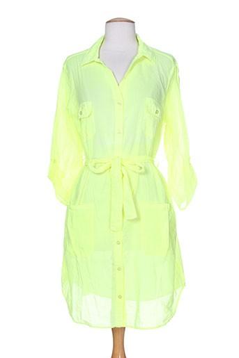 seafolly tuniques femme de couleur jaune