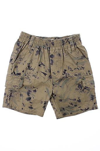 jean bourget shorts / bermudas garçon de couleur marron