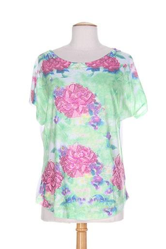 may&co t-shirts / tops femme de couleur rose