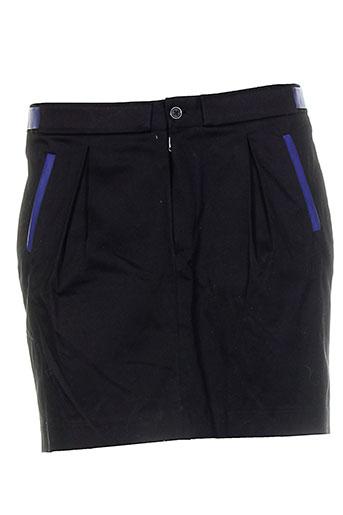 mademoiselle sarong jupes femme de couleur noir