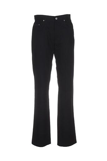 olivier strelli pantalons homme de couleur noir