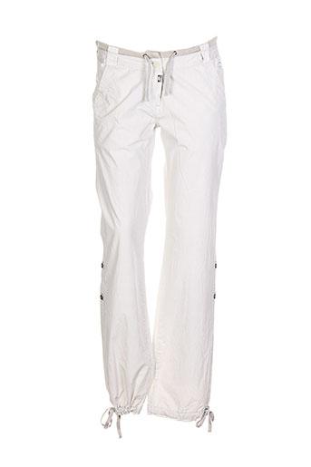 timezone pantalons et decontractes femme de couleur beige