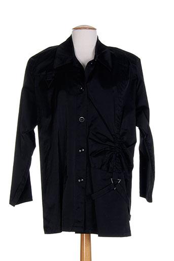 Veste casual noir CLIN D'OEIL pour femme