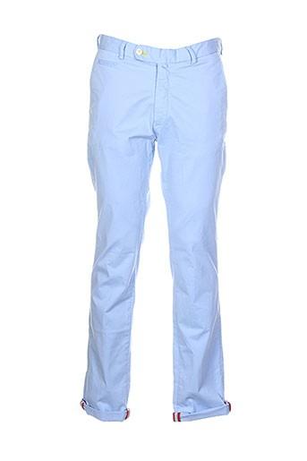 vicomte et arthur pantalons et decontractes homme de couleur bleu