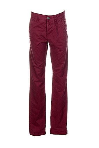 tom et tailor pantalons et decontractes homme de couleur rouge