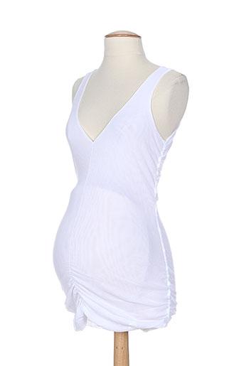 cybele enceinte tuniques femme de couleur blanc