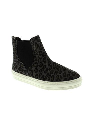 natural world chaussures femme de couleur noir