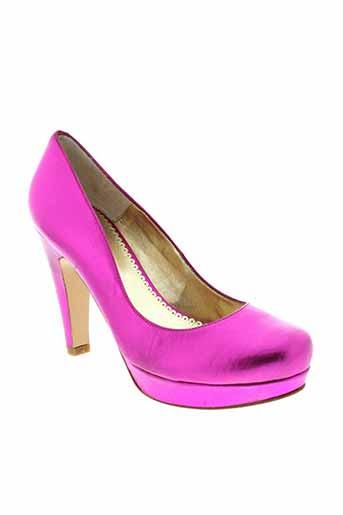 christian rossi chaussures femme de couleur rose