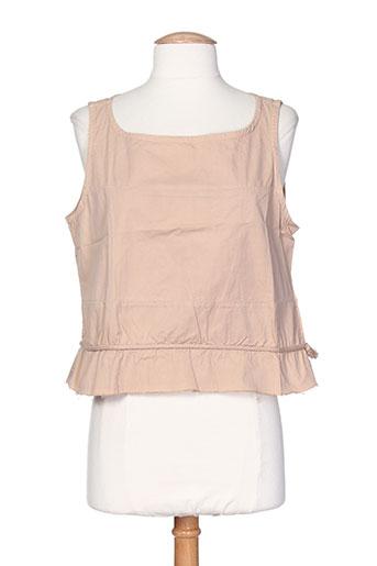 bellocoton chemises femme de couleur beige