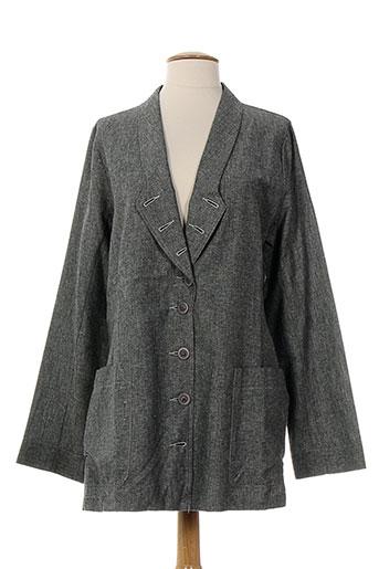 lunn vestes femme de couleur noir