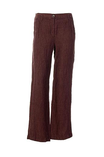 sandwich pantalons et decontractes femme de couleur rouge