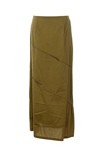 Jupe longue vert BELLOCOTON pour femme