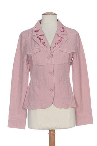 friponne vestes femme de couleur rose