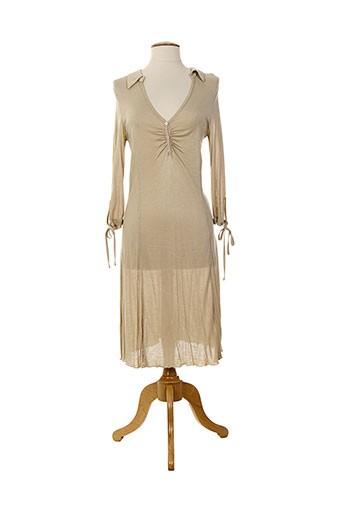 loona tuniques femme de couleur beige