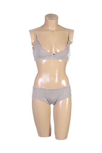 zoetee's lingerie femme de couleur beige