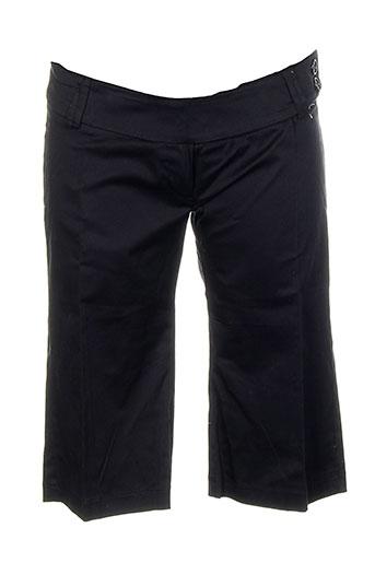 dragon s shorts / bermudas femme de couleur noir
