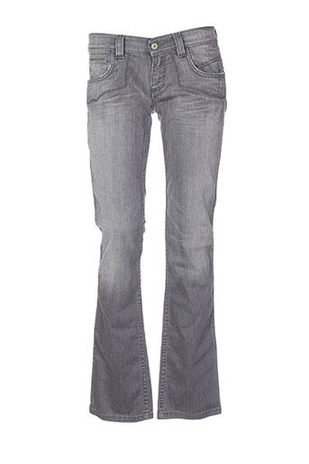 antik denim jeans femme de couleur gris