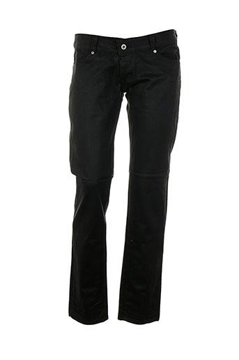 p&y denim jeans femme de couleur noir