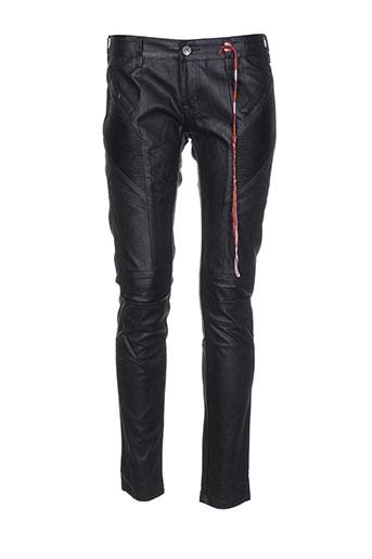 circle of trust pantalons femme de couleur noir