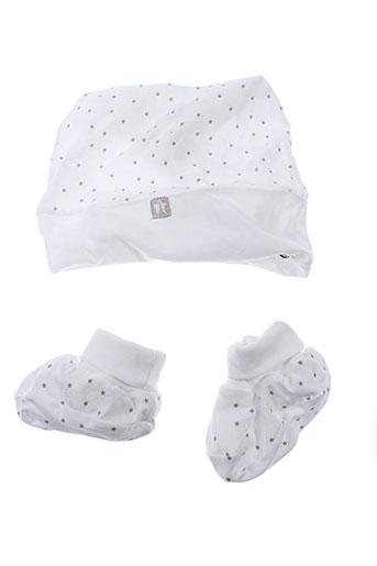 3 et pommes chapeaux et bonnets enfant de couleur blanc (photo)