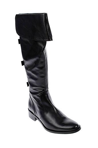 adige bottes femme de couleur noir