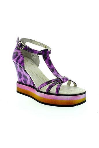 eject chaussures femme de couleur violet