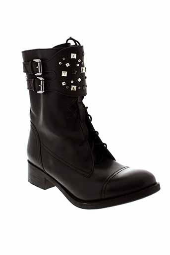 paradoxale bottines femme de couleur noir