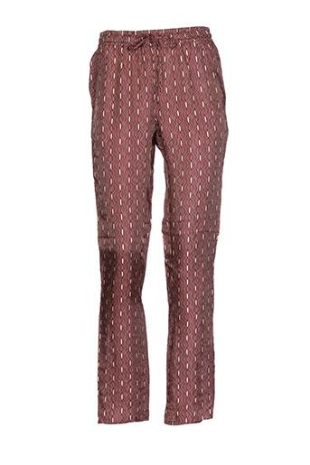 diega pantalons femme de couleur rouge