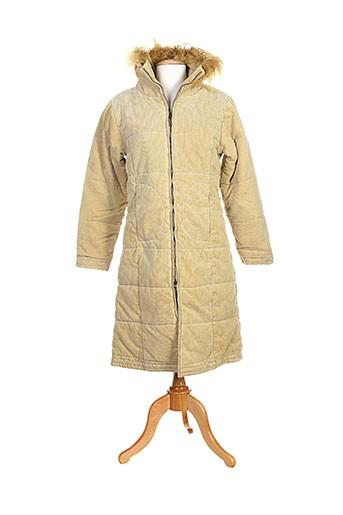 gi and jo manteaux femme de couleur jaune