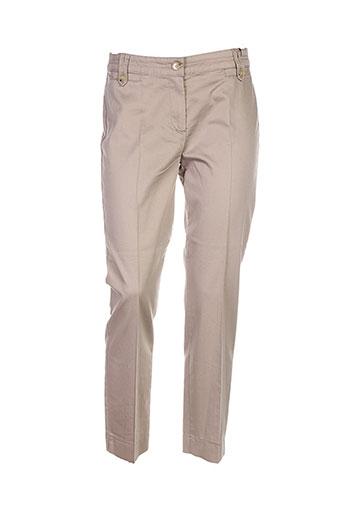 Pantalon casual marron BIANCA pour femme