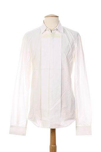 costume national chemises femme de couleur blanc