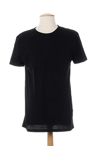 T-shirt manches courtes noir COSTUME NATIONAL pour homme
