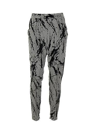 Pantalon casual gris COSTUME NATIONAL pour femme