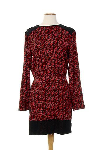 Robe mi-longue rouge COSTUME NATIONAL pour femme