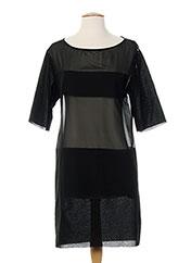 Robe mi-longue noir COSTUME NATIONAL pour femme seconde vue