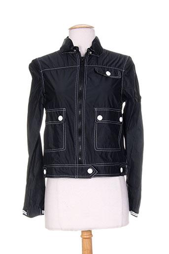 tricot chic vestes femme de couleur noir
