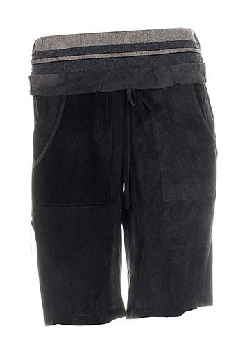 tricot chic shorts / bermudas femme de couleur gris