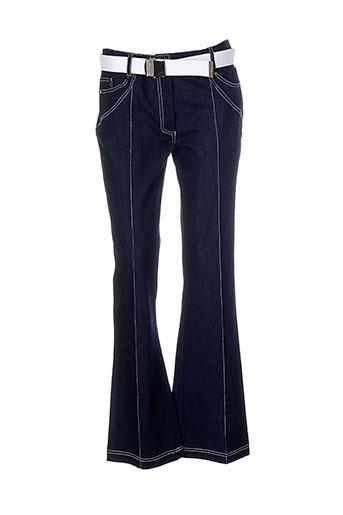 infinitif pantalons femme de couleur bleu