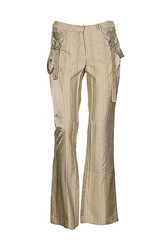 infinitif pantalons femme de couleur beige