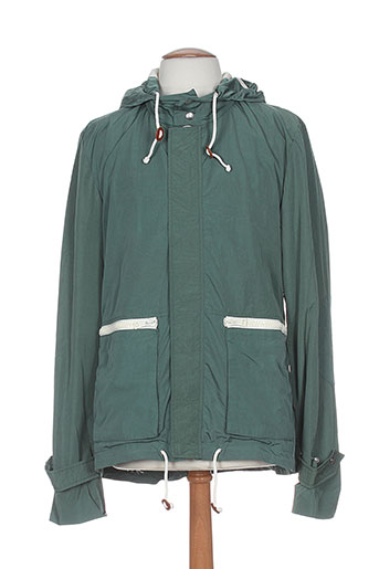 band of outsiders manteaux homme de couleur vert