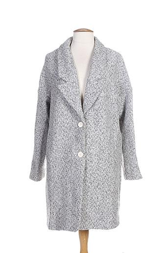 suncoo manteaux et courts femme de couleur gris