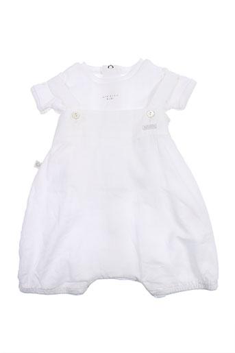 absorba t et shirts et shorts enfant de couleur blanc