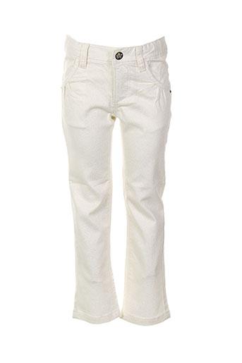 absorba pantalons et citadins fille de couleur beige